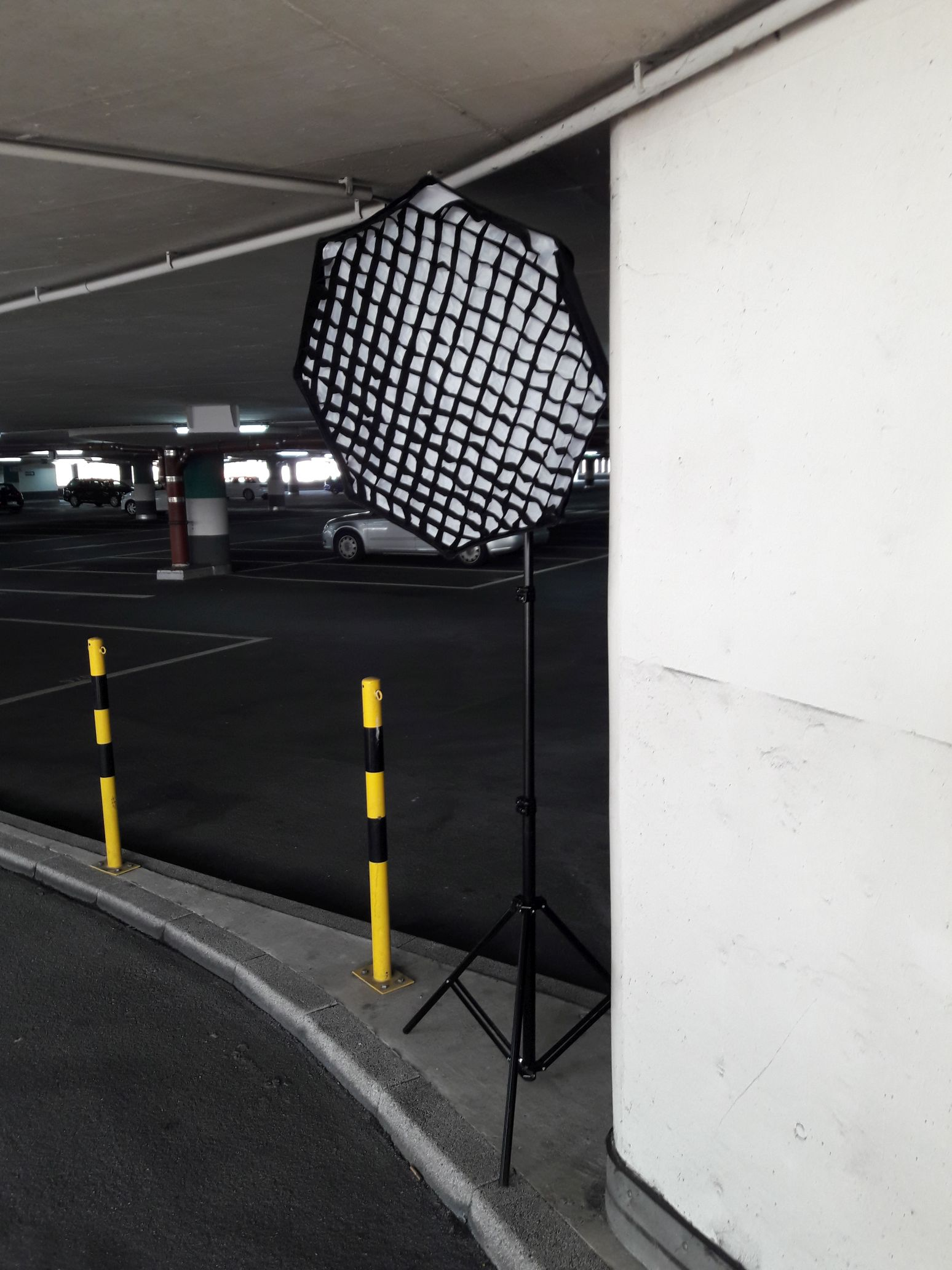 Mobiles Licht on Location