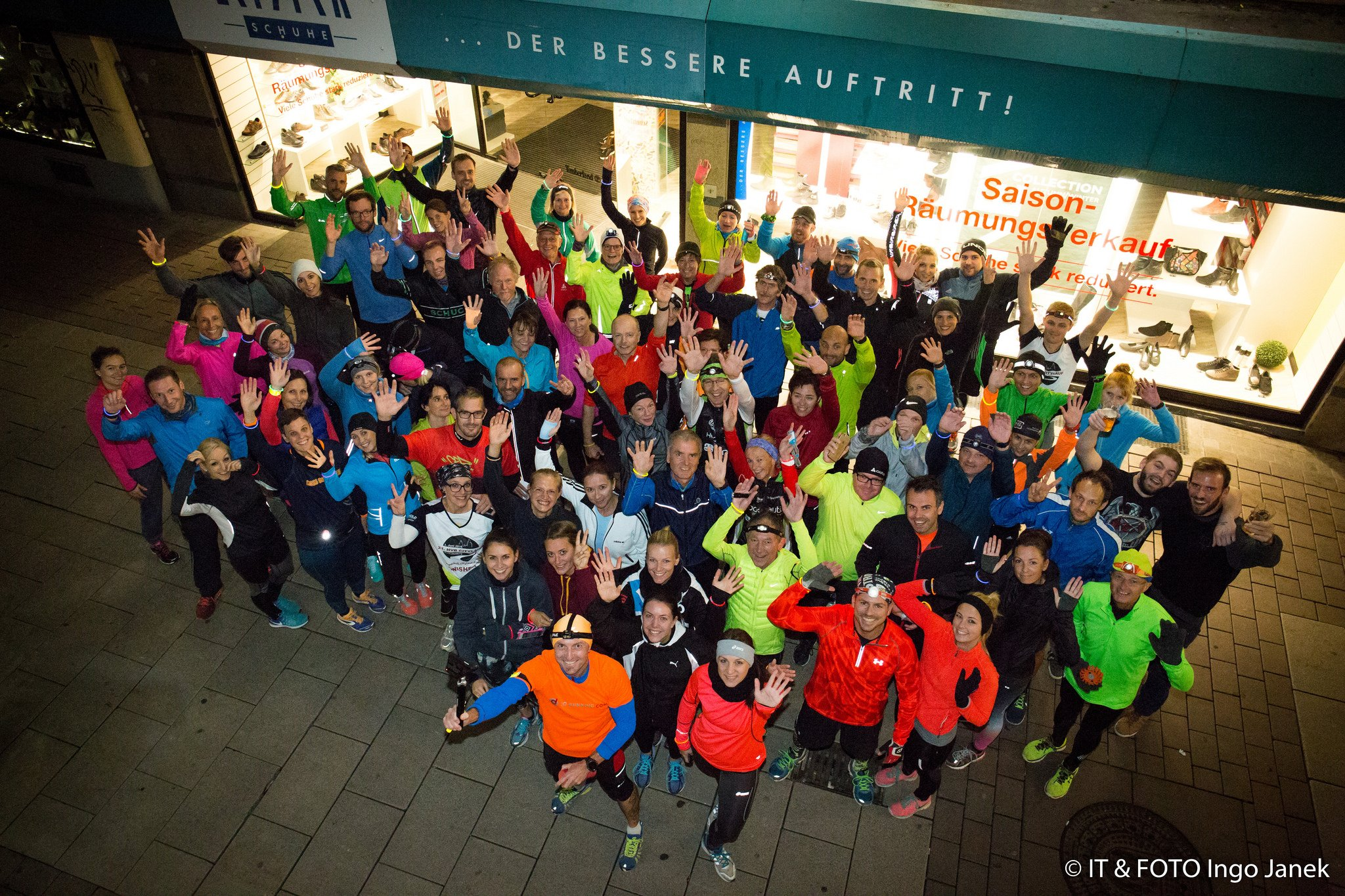 Eventfotografie Night Running