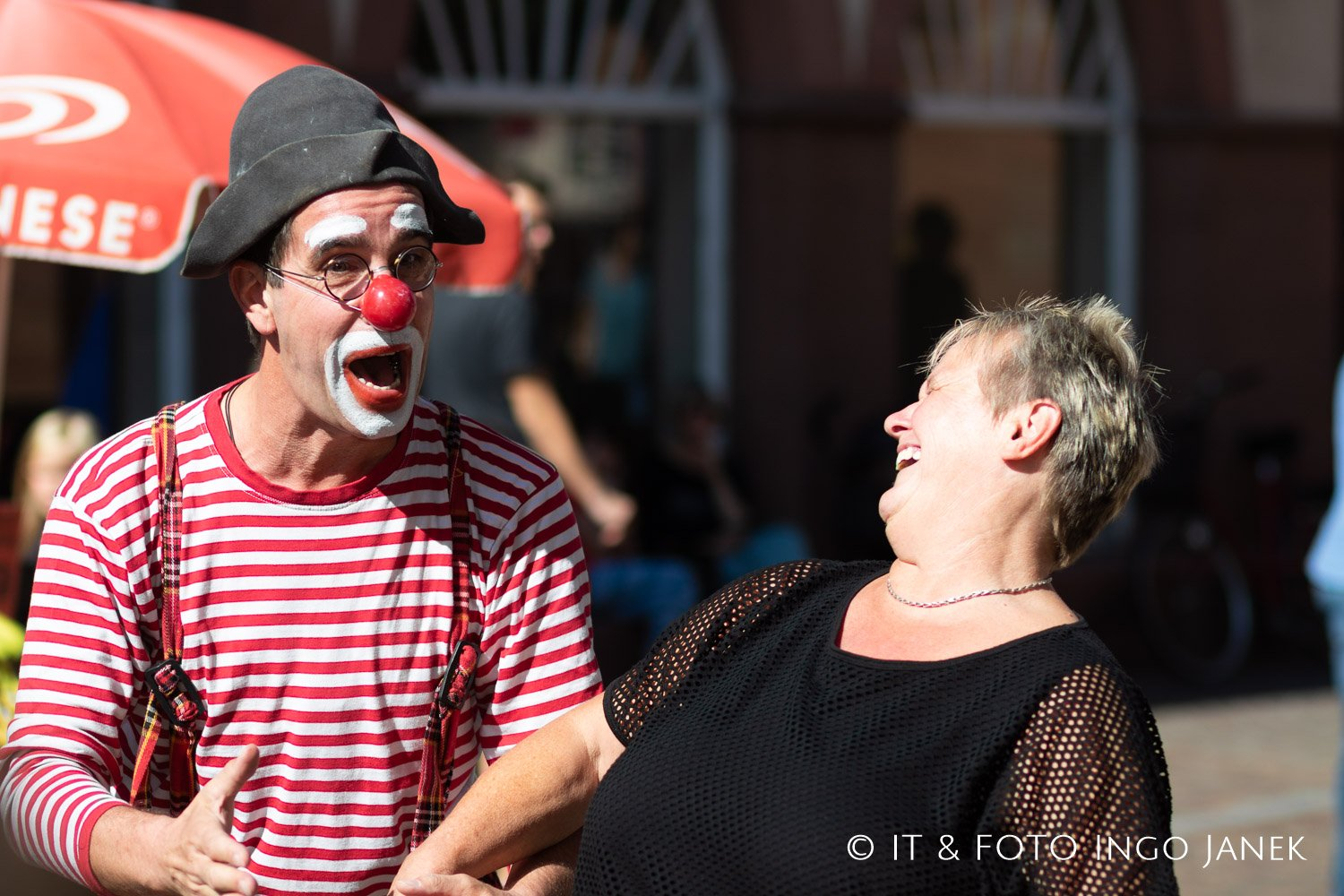 Clown Eventfotografie