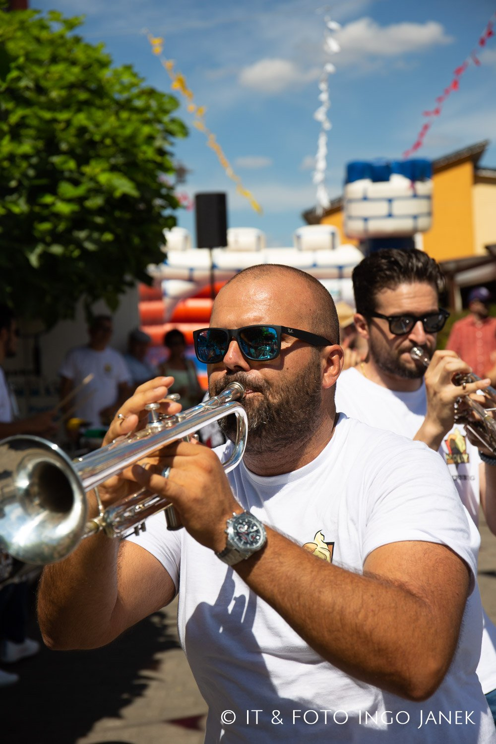 Funkasin Streetband in Obernburg
